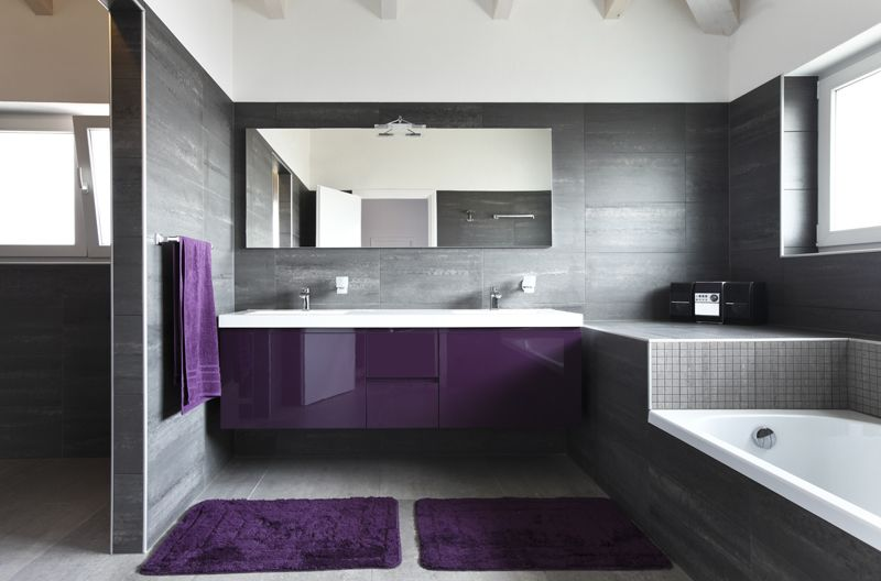 Salle de bain design rennes for Photo salle de bain design